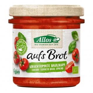 Allos Bio aufs Brot Streichcreme Kirschtomate Basilikum