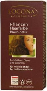Logona Pflanzen-Haarfarbe Braun-Natur