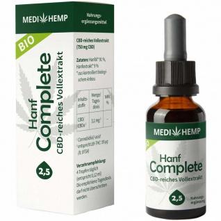 MEDIHEMP Bio Hanf Complete 2, 5%