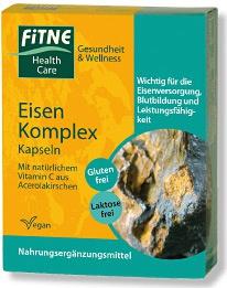 Fitne Eisen-Complex Kapseln