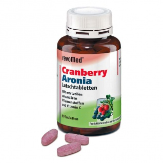 revoMed Cranberry Aronia Lutschtabletten