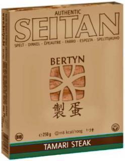 Bertyn Bio Seitan Dinkel Tamari Steak
