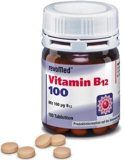 revoMed Vitamin B12 100 Tabletten