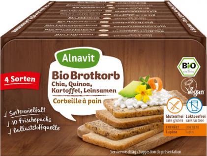 Alnavit Bio Brotkorb glutenfrei - Vorschau