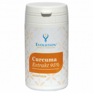 Evolution Curcuma Extrakt 95% Kapseln