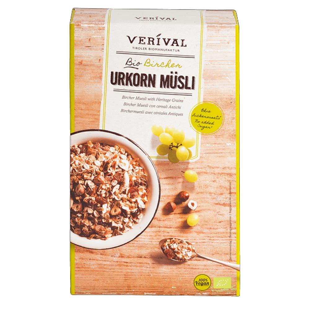 Verival Bio Urkorn Bircher Müsli - Kaufen bei Meavit GmbH