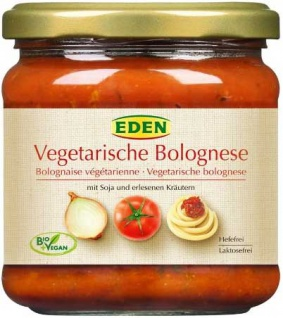 Eden Bio Vegetarische Bolognese
