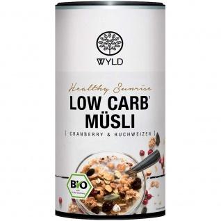 Wyld Bio Low Carb Müsli Cranberry & Buchweizen