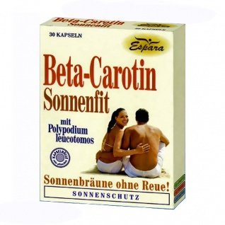 Espara Beta-Carotin Sonnenfit Kapseln
