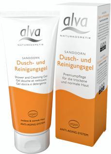 alva Sanddorn Dusch- und Reinigungsgel