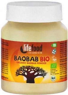 Lifefood Bio Baobab Pulver