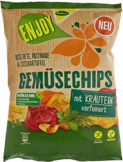Kühne Enjoy Gemüse Chips Kräuter