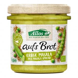 Allos Bio aufs Brot Streichcreme Erbse Masala