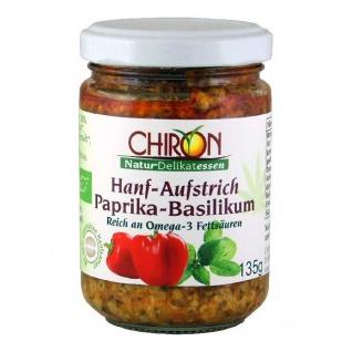 Chiron Bio Hanf Aufstrich Paprika Basilikum