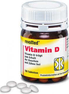 revoMed Vitamin D Tabletten
