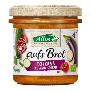 Allos Bio aufs Brot Streichcreme Toskana