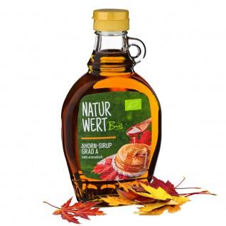 NaturWert Bio Ahorn-Sirup Grad A mild