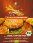 Pfiffikuss Bio Bratlinge Dinkel-Hafer-Gemüse