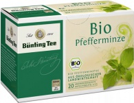 Bünting Bio Pfefferminze Tee Beutel