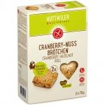 Huttwiler Cranberry Nuss Brötchen glutenfrei
