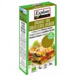 Explore Cuisine Bio Lasagne Platten aus grünen Linsen