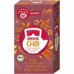 Teekanne Bio Oriental Chai Teebeutel