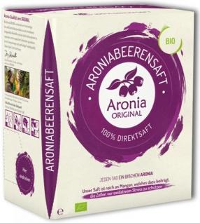 Aronia Original Bio Aronia Direktsaft - Vorschau
