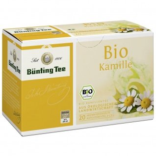 Bünting Bio Kamille Tee Beutel (1, 5g)