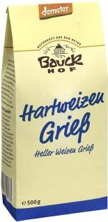 Bauckhof Bio Hartweizen Grieß - Vorschau