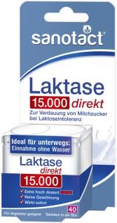 Sanotact Laktase 15.000 direkt Tabletten