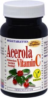 Espara Acerola Vitamin C Tabletten