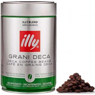 illy Espresso entkoffeiniert ganze Bohne