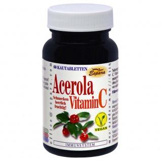 Espara Acerola Vitamin C Tabletten - Vorschau