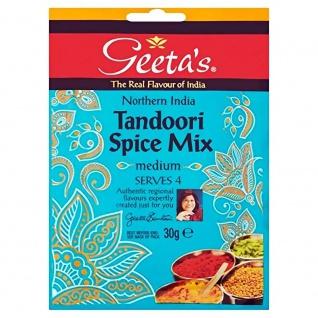 Geeta´s Tandoori Spice Mix medium