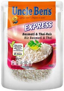 Uncle Ben's Express Basmati & Thai-Reis