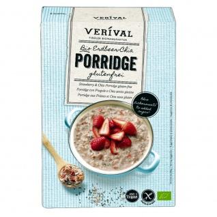 Verival Bio Porridge Erdbeer Chia