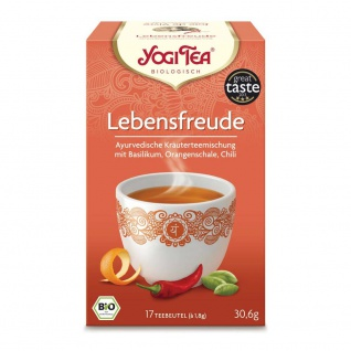 Yogi Tea Bio Lebensfreude Tee Beutel