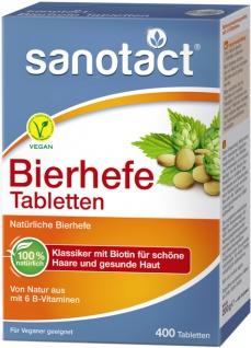 Sanotact Bierhefe Tabletten