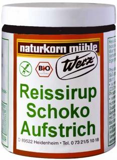 Werz Bio Reissirup-Schoko-Aufstrich glutenfrei - Vorschau