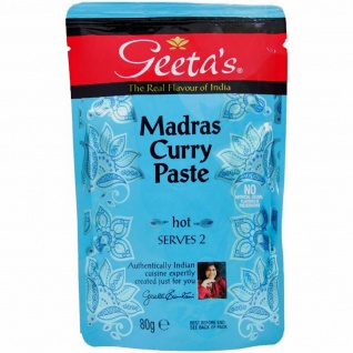 Geeta´s Madras Curry Paste hot