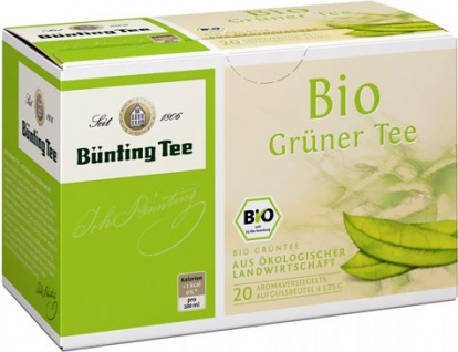 Bünting Bio Grüner Tee Beutel (1, 75g)