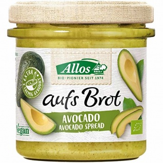 Allos Bio aufs Brot Avocado