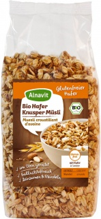 Alnavit Bio Hafer Knusper Müsli