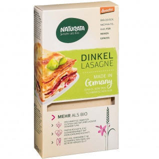 Naturata Bio Dinkel Lasagne Platten