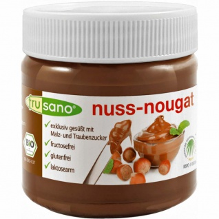 Frusano Bio Nuss-Nougat-Creme