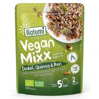 Natumi Bio Vegan Mixx Dinkel, Quinoa & Reis