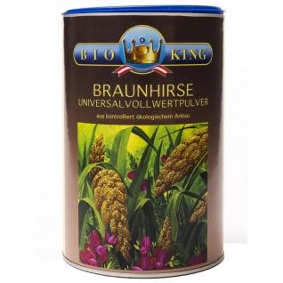 BioKing Bio Braunhirse Vollwert Pulver - Vorschau
