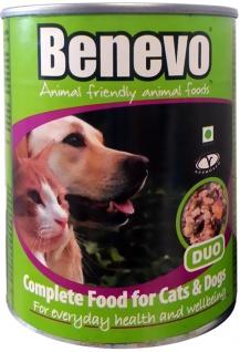 Benevo Vegan Hunde- & Katzenfutter Duo