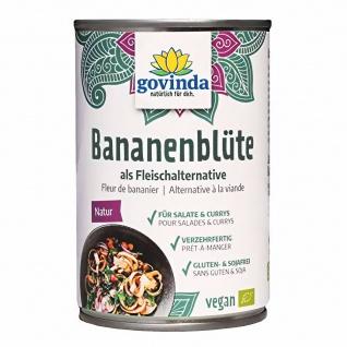 Govinda Bio Bananenblüte als Fleischersatz