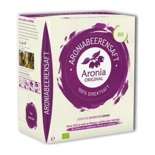 Aronia Original Bio Aronia Direktsaft